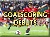 Newton Heath &Manchester United Goalscoring Debuts