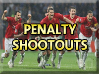 Manchester United Penalty shoot outs