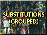 All Manchester United Substitutes